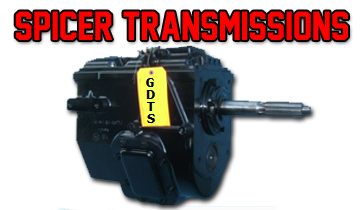 Spicer Transmission sales, rebuilding and repair parts  Call